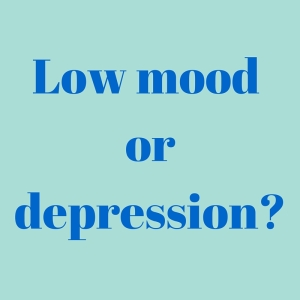 Low mood ordepression-