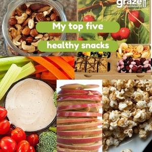 Five of my healthy snacks (1)
