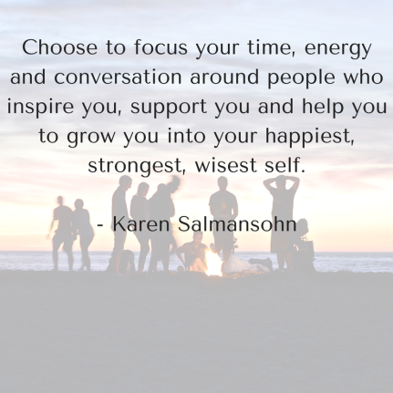 Choose to focus your time